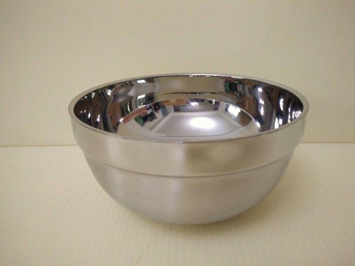 (巧晶)隔熱碗/雙層碗/不鏽鋼碗/兒童餐具 304(18-8)不鏽鋼16CM