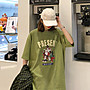 夏季女裝短袖T恤 花田櫥窗F957 寬松短袖t恤女夏季新款韓版潮百搭學生上衣bf風
