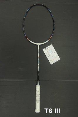 (台同運動活力館) FLEET 富力特 Triotec T6 III 【WOVEN 科技】【小平頭設計】羽球拍【攻擊拍】