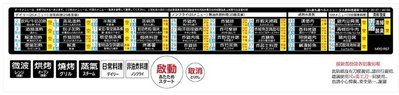 現貨 MRO-RS7 中日文面板(PVC貼紙)