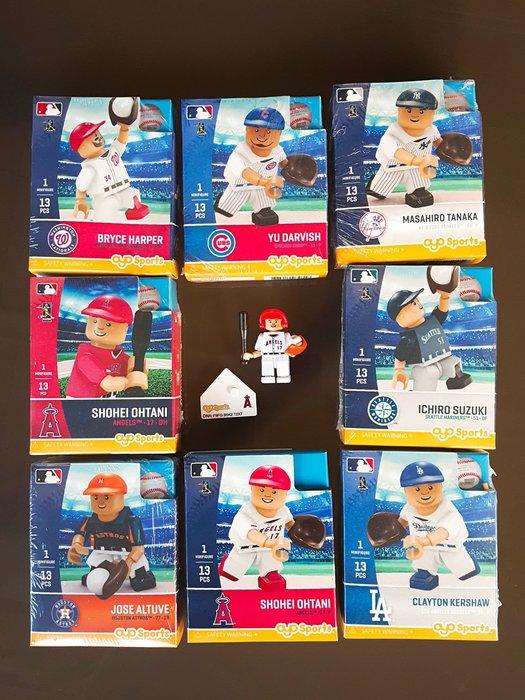 《金塊》MLB大聯盟 積木人偶 公仔 玩具 組裝DIY 棒球 OYO Sports MLB 官方授權 公仔