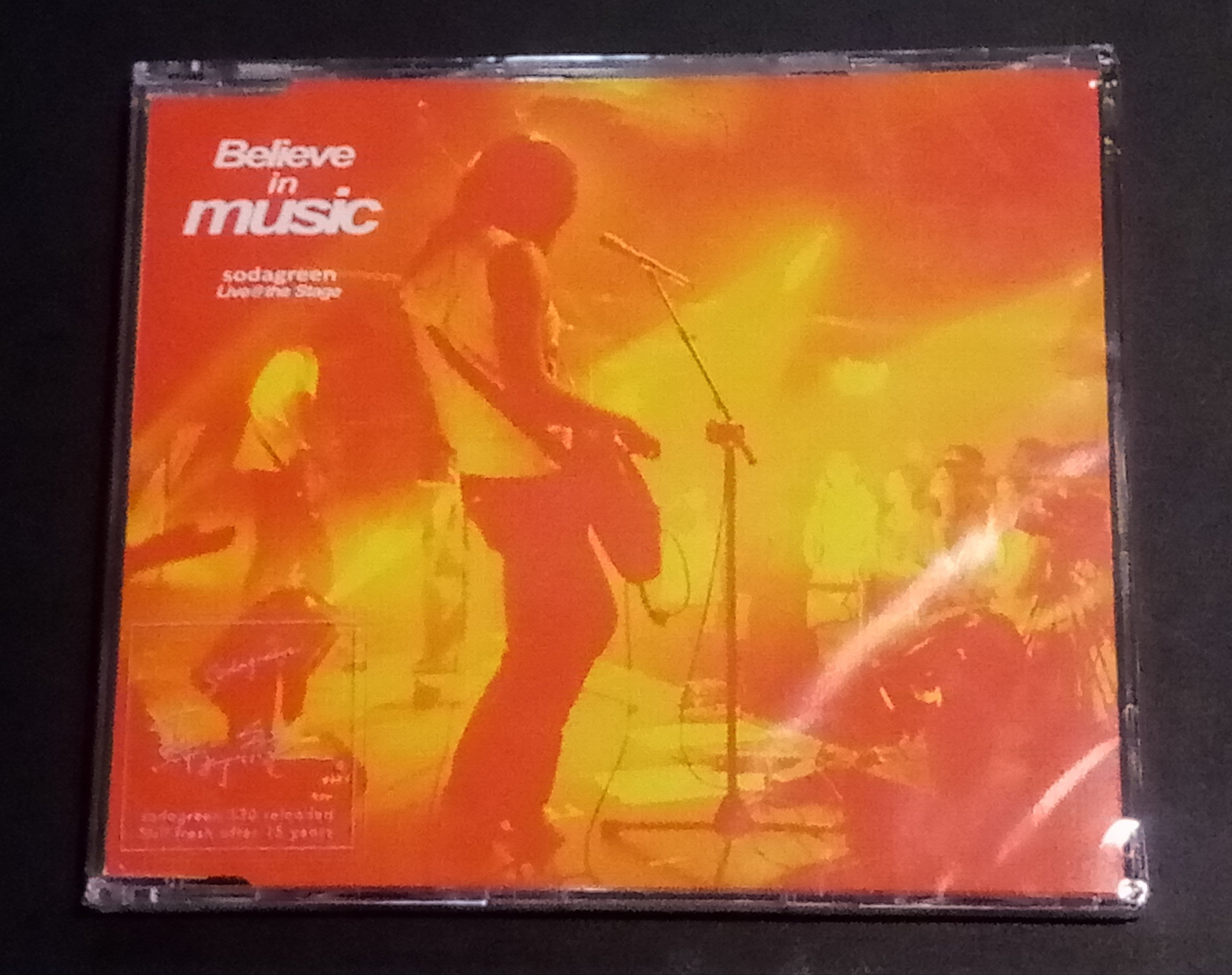 ( 530 Reload蘇打綠日, EP,全新未拆封 ) 蘇打綠 : Believe in Music
