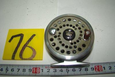 采潔 日本二手外匯釣具 kencrafi 富士輪23Fuji 前打輪 牛車輪 日本製  二手釣具 釣竿 捲線器 k76