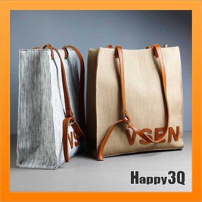 手提包側背包購物袋環保包拉絲金屬紋大容...