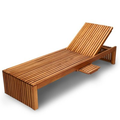 Brother印尼原木柚木躺椅~泳池畔...