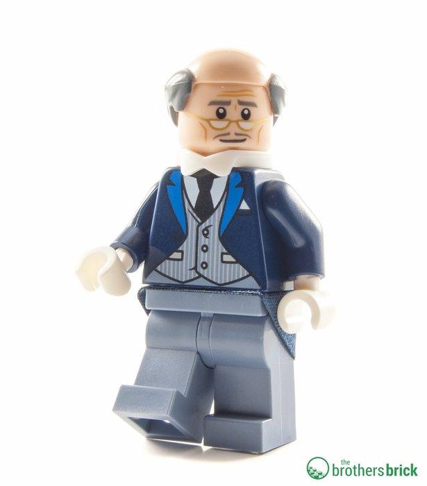 現貨【LEGO 樂高】全新正品 積木/ 蝙蝠俠電影系列: 蝙蝠洞 70909 | 單一人偶: 管家阿福 ALFRED
