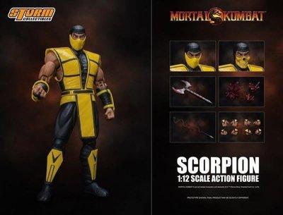 全新 STORM TOYS 1/12 Mortal Kombat 真人快打 蠍子 Scorpion