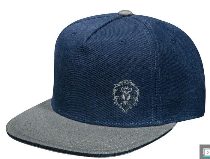 【丹】J!NX_WORLD OF WARCRAFT TEAM BACK HAT 魔獸世界 聯盟 部落 帽子 單一價