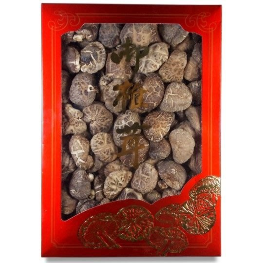~中大朵韓國花菇(600公克禮盒裝)~ 結婚嫁娶,端午節、中秋節、過年,最佳伴手禮,附禮袋。【豐產香菇行】