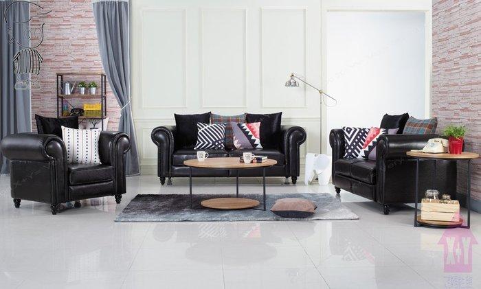 【X+Y時尚精品傢俱】現代沙發系列-羅德曼 透氣皮沙發(1+2+3).不含大茶几.可拆賣.摩登家具