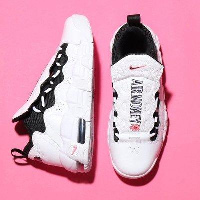 R'代購 NIKE AIR MORE MONEY PIGGY BANK 粉紅豬 AH5215-100 女鞋