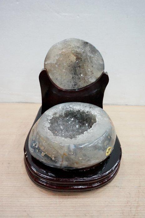 [S.D.小晶洞專賣店] 天然瑪瑙聚寶盆@含座重:3130g@