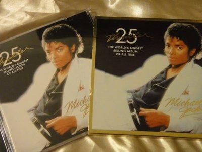 Michael Jackson 麥可傑克森 -- Thriller 顫慄 25週年紀念版 CD+DVD