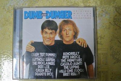 CD 原聲帶 ~ DUMB AND DUMBER ~ 1994 RCA 無IFPI
