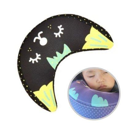 兒童卡通安全座椅靠枕兒童睡眠枕頭 安全帶抱枕 寶寶安全座椅護頸 大【K0025】