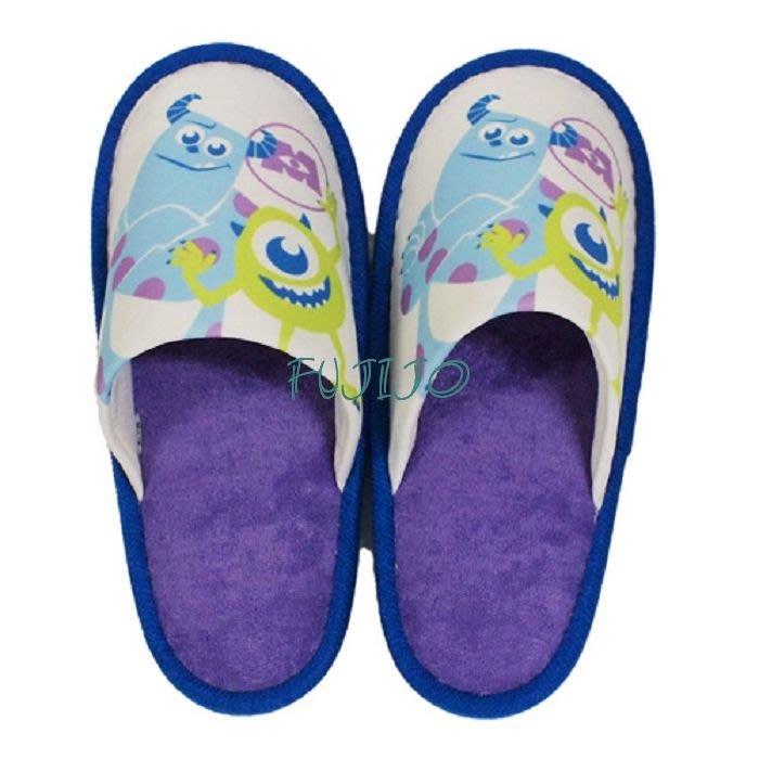 ~FUJIJO~日本存貨款~日本迪士尼限售Disney 【怪獸電力公司 】地板拖地板鞋室內拖鞋家居鞋