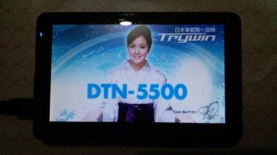 Trywin DTN5500 衛星導航機 故障零件機 拆液晶