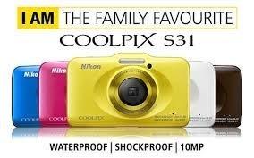 二手品沒保固 NIKON S31 防水相機 非S32 S30 AW120 AW100 TS3 TS5 -2 S33