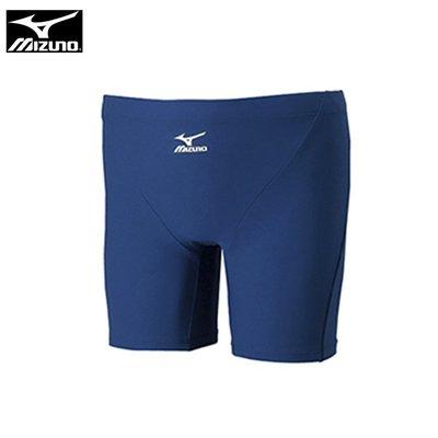 【跑者】【MIZUNO 美津濃】85UA-30014 基本款 BASIC男四角泳褲 / 丈青 基隆市