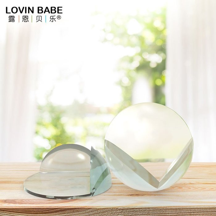 小花花精貨店-樂防撞角球形透明直角保護套兒童安全桌角保護玻璃茶幾加厚#防撞角