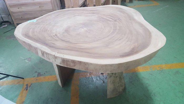 幸福家傢俱 厚木圓桌 (厚木圓桌140X115) 餐桌 泡茶桌 實木傢俱