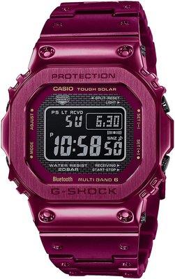 光華.瘋代購 [預購] CASIO GMW-B5000RD-4 JF 藍牙太陽能電波錶