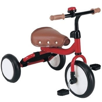 日本mimi-trike 三輪車-紅色(公司貨;保固)