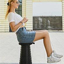 第五代伸縮凳【台灣現貨附發票】 折疊凳子 螺旋伸縮椅凳 收納椅 折疊椅 自由調高 高承重 伸縮椅 排隊神器 釣魚折疊椅