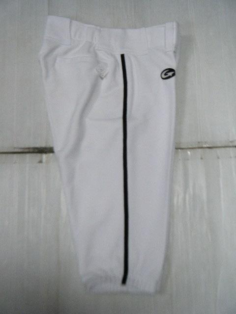 新莊新太陽 GST 獨家 訂製款 大尺寸 5分 五分 棒壘 球褲 黑 邊條 白 特990