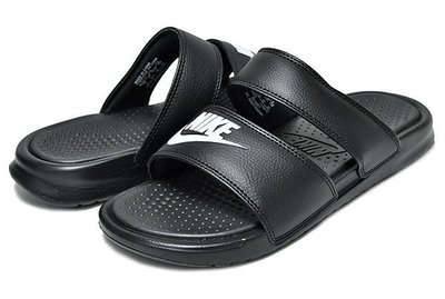 =CodE= NIKE W BENASSI DUO ULTRA SLIDE 雙帶拖鞋(黑白) 819717-010 涼鞋