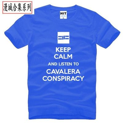 男式搖滾T恤 Keep Calm and Listen To Cavalera Conspiracy judoo