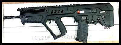 【原型軍品】全新 II 免運 KSC/KWA UMAREX IWI TAVOR TAR-21 授權刻字 瓦斯槍
