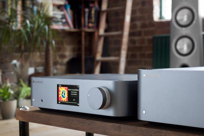 【鴻韻音響影音生活館】Cambridge Audio EDGE NQ 數位流前級擴大機+Cambridge EDGEW後極