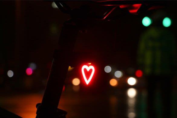 wheelup自行車尾燈山地車配件死飛車燈裝飾燈LED充電車尾燈裝備  腳踏車警示車燈