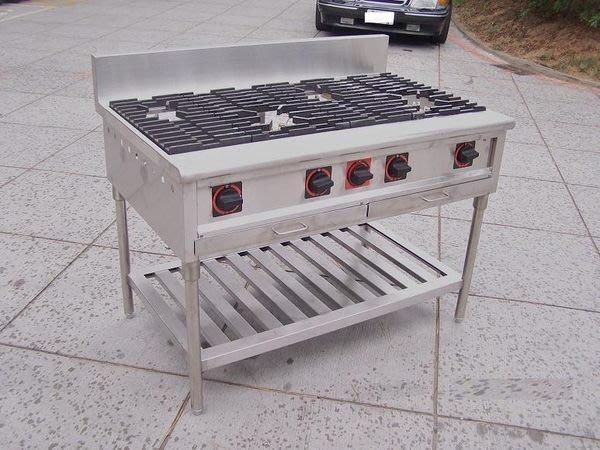 鑫忠廚房設備-餐飲設備:二主二副西餐爐,賣場有工作檯-咖啡機-快速爐
