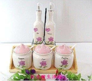 【凱迪豬生活館】家居裝飾擺件 調味罐 調味瓶 工藝品 手工製作 結婚禮物KTZ-201034