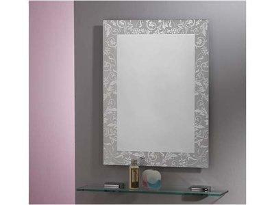 HM-045 防霧化妝鏡(浴鏡、防蝕明鏡)華冠牌 藤蔓鏡 浴鏡 化妝鏡 浴室衛浴鏡子 明鏡 除霧鏡