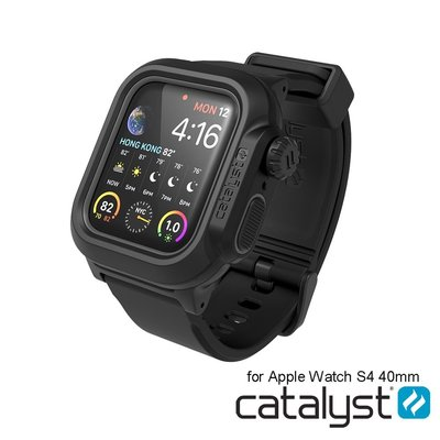 美國catalyst iwatch4防水手錶殼Apple Watch Series4  S5防摔殼保護套4/5代防水殼