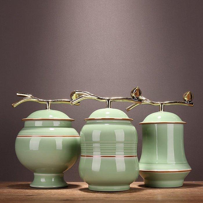 〖洋碼頭〗新古典美式鄉村陶瓷儲物罐插花儲蓄擺件家居家飾裝飾品套裝樣板房 ysh425