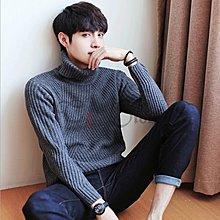 【T3】韓系高領毛衣 素面毛衣 加厚 針織衫 素面針織 毛線衣 秋冬 男裝【MS04】