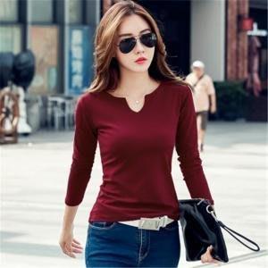 加厚針織衫(酒紅色) J-12753