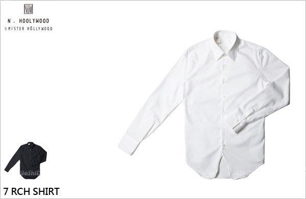 WaShiDa PLUS+【 N.HOLLYWOOD 棉質 7 RCH SHIRT 素面 襯衫 】- 預訂