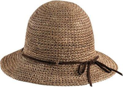 New York Hat #RS7117 SEA GRASS FRAMER /Made in USA 藝人最愛配件品牌