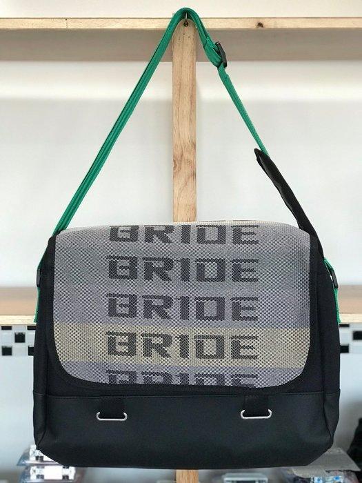 (I LOVE樂多)BRIDE SPARCO TAKATA JDM 側背包 綠色背帶
