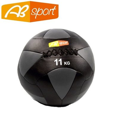 【健魂運動】PU皮革軟式藥球 11公斤(AB Sport-PU Medicine Balls 11kg)