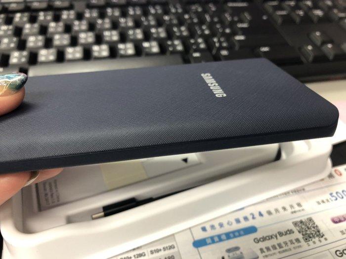 促銷🌸快速出貨【SAMSUNG三星】原廠行動電源 隨身充電 移動電源 藍色 A9 J6+ S8