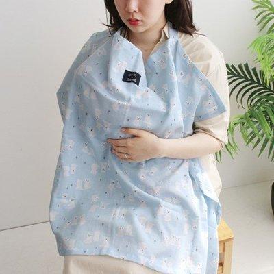 Ξ ATTIC Ξ 韓國conitale~ Nursing Cover 多功能哺乳巾推車罩背巾披風~ Bear