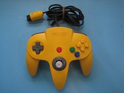 原裝日製N64-手把.中搖桿挺直不晃動