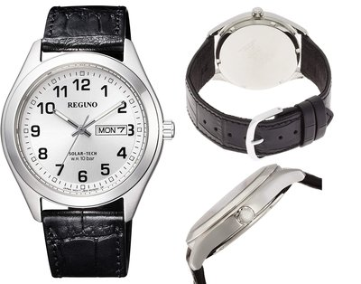 日本正版 CITIZEN 星辰 REGUNO KM1-016-10 男錶 手錶 太陽能充電 日本代購