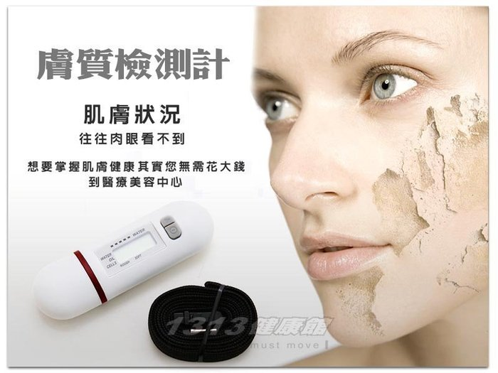 膚質檢測儀 / 水份計SK-03【1313健康館】隨時掌握皮膚狀況,讓皮膚隨時保持在水嫩狀態!膚質檢測計(另有蒸臉器)